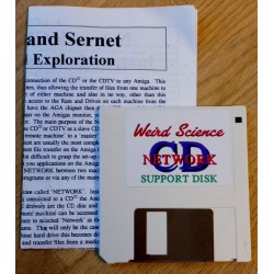 Weird Science Network CD Support Disk