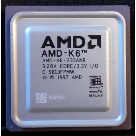 AMD K6 233ANR 233 MHZ CPU