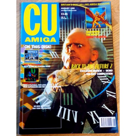 CU Amiga: 1990 - August - Back to the Future 2