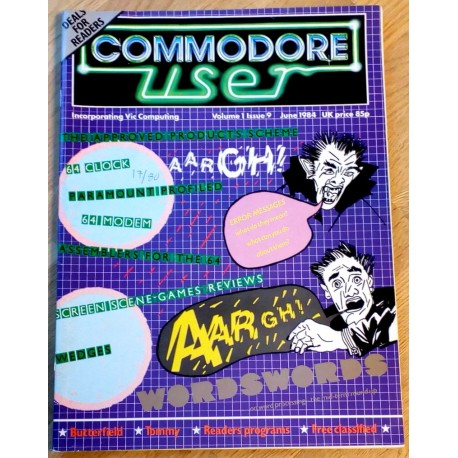 Commodore User: 1984 - June - Aargh!