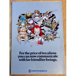 The Commodore Communications Modem - Reklame