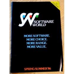 Software World Catalogue Spring/Summer 1986