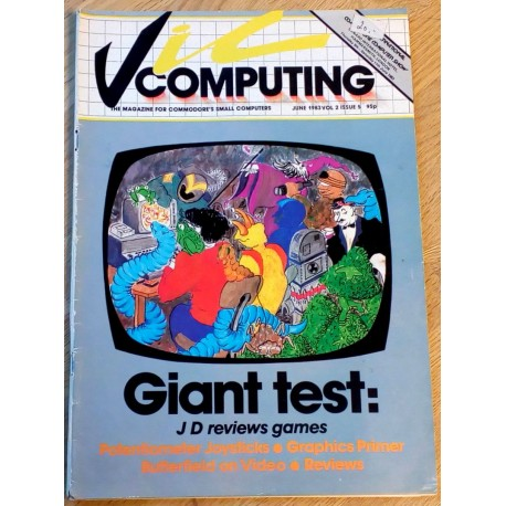 Vic Computing: 1983 - June - Giant Test