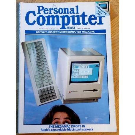 Personal Computer World: 1986 - February - The MegaMac Drops In