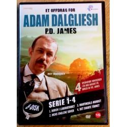 Et oppdrag for Adam Dalgliesh - P.D. James - Sesong 1 til 4 (DVD)