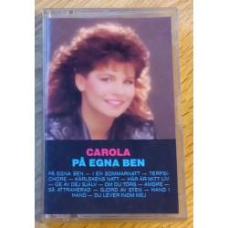 Carola: På egna ben (kassett)