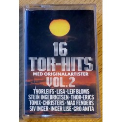 16 Tor-Hits med originalartister: Vol. 2 (kassett)