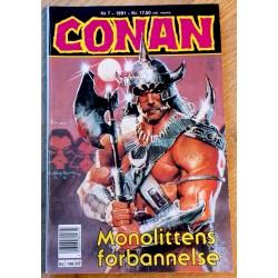 Conan: 1991 - Nr. 7 - Monolittens forbannelse