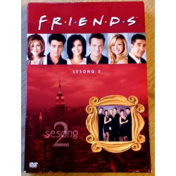 Friends: Sesong 2 (DVD)