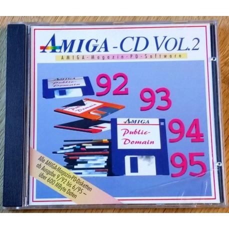 Amiga CD Vol. 2 - All Amiga Magazin PD disks from 92 to 95 (CD)
