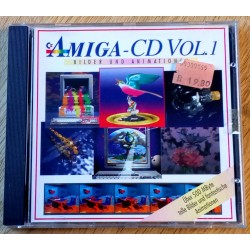 Amiga CD Vol. 1 - Bilder og animasjoner (CD-ROM) (Amiga)