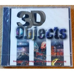 3D Objects - 2nd Edition for amiga MS-DOS, Windows & Windows 95 (CD-ROM)