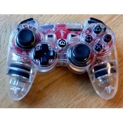 Playstation 3: Gjennomsiktig håndkontroll