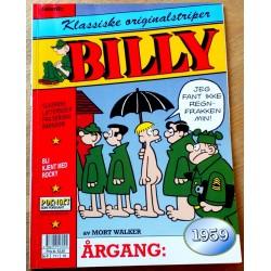 Billy - Klassiske originalstriper - Årgang 1959