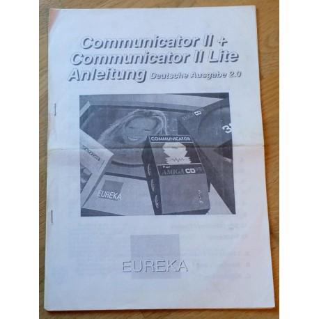 Communicator II + Communicator II Lite Anleitung - Deutsche Ausgabe 2.0