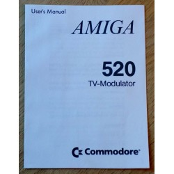 Amiga 520 TV-modulator User's Manual