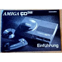 Commodore Amiga CD32 Einführung