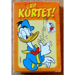 Kortstokk: Donald Duck - Grip kortet!
