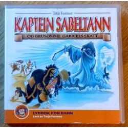Kaptein Sabeltann og Grusomme Gabriels skatt (lydbok)