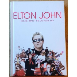 Elton John: Rocket Man - Definitive Hits - Bok og CD-er