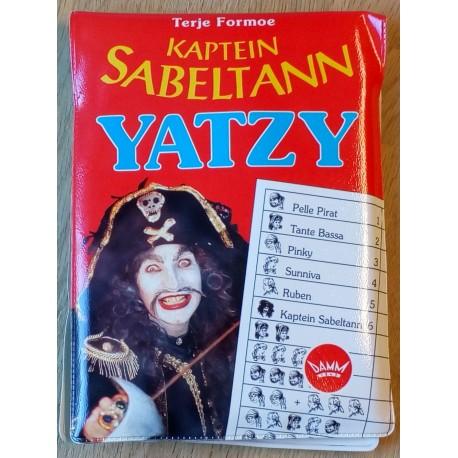 Kaptein Sabeltann Yatzy (Damm)
