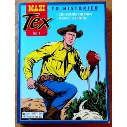 Maxi Tex: Nr. 1 - Den rustne stjernen - Tegnet i ørkenen