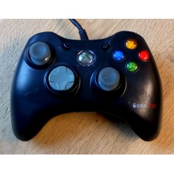 Xbox 360: Gamestop joypad - Sort - Wired