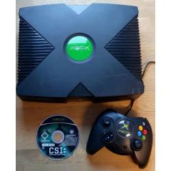 Xbox: Komplett konsoll med CSI Crime Scene Investigation