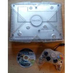 Xbox: Komplett Crystal Limited Edition konsoll