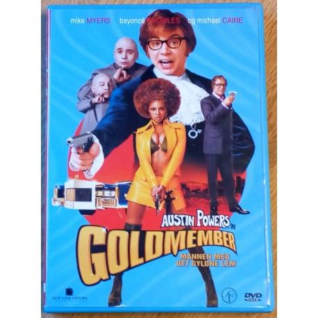 Austin Powers in Goldmember - Mannen med det gyldne lem (DVD)
