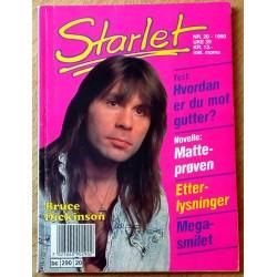 Starlet: 1990 - Nr. 20 - Bruce Dickinson
