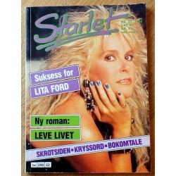 Starlet: 1988 - Nr. 22 - Suksess for Lita Ford