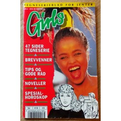 Girls: 1990 - Nr. 8 - Tegneserieblad for jenter