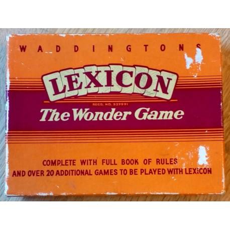 Waddingtons Lexicon - The Wonder Game