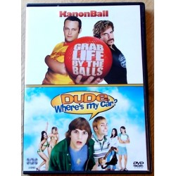 2 x komedie: KanonBall og Dude, Where's My Car (DVD)