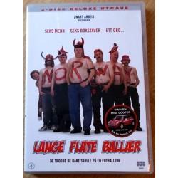 Lange flate baller: 2-disc deluxe utgave (DVD)