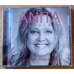Anita Hegerland: 45 År Jahre Years In Music - Signert! (CD)