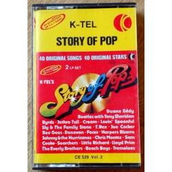 K-Tel: Story of Pop - Vol. 2 (kassett)