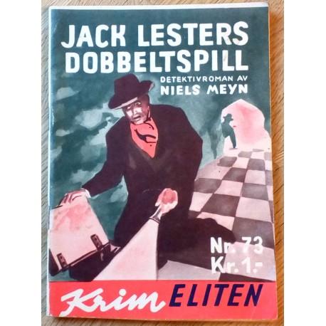 Krimeliten: 1956 - Nr. 73 - Jack Lesters dobbeltspill