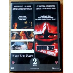 2 x thriller - After the Storm - Turbulence 3 (DVD)