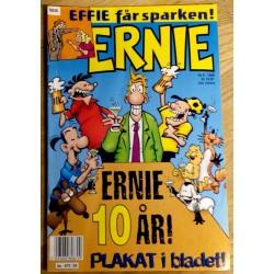 Ernie: 1998 - Nr. 9 - Ernie 10 år - Plakat i bladet