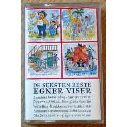 De seksten beste Egner viser (kassett)