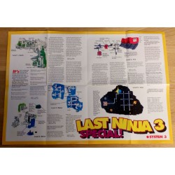 Zzap! 64 - TipsPlus 1 - The Last Ninja 3 Special