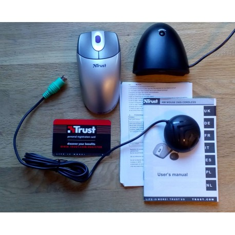 Ami Mouse 250S Cordless - Trust Computer Products