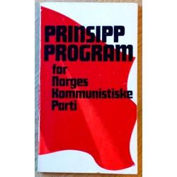 Prinsipprogram for Norges Kommunistiske Parti