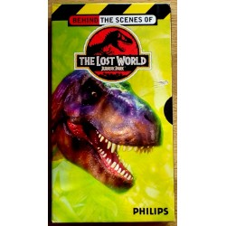 Jurassic Park - The Lost World - Behind the Scenes (VHS)