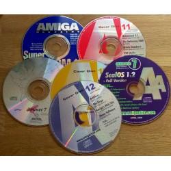 6 x CD-er til Amiga