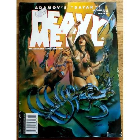 Heavy Metal: 1994 - September - Adamov's Dayak