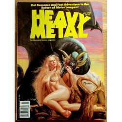 Heavy Metal: 1989 - July - Hot Romance and Fast Adventure in the Return of Dieter Lumpen!