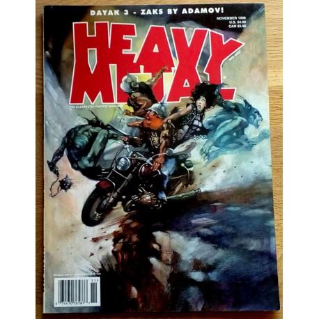 Heavy Metal: 1998 - November - Dayak 3 - Zaks by Adamov!